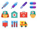 医疗相关系列用品图标