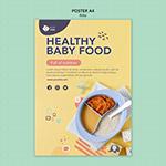 婴儿食品海报