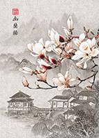 中国风山水装饰画