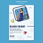 黑色星期五促销海报
