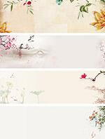中国古风水墨背景
