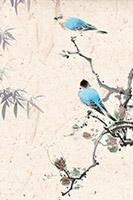 中国风水墨花鸟画