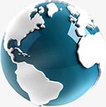蓝色地球模型
