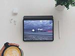 俯视iPad样机模型