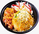 咖喱芝士鸡肉饭