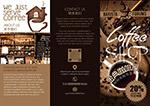 咖啡店三折页宣传单
