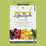 健康饮食生活海报
