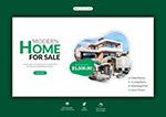 房地产网页横幅模板