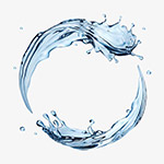 装饰动感水环