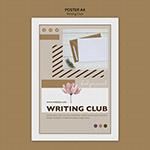 写作俱乐部海报