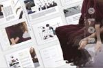媒体风格杂志模板