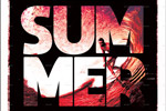 夏季冲浪运动海报