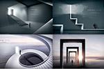未来建筑商务海报