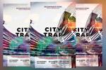 城市抽象风格海报