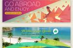 旅行广告banner