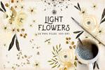 奢华金漆花卉素材