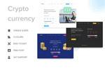 虚拟币网页模板