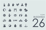 26枚佛教图标