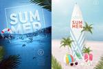 夏季假日海报