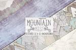 山脉山地背景纹理