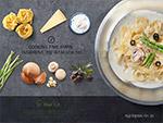 健康美食创意广告