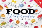 水彩食物LOGO