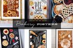 面包店海报模板