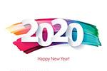 2020新年字��
