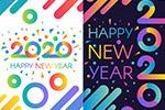 2020新年数字海报