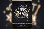 圣诞节摇铃海报