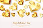 情人节桃心钻石元素