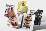 INS餐饮促销模板