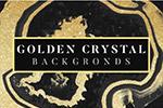 金色水晶背景