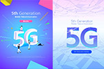 5G网络海报