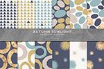 秋季阳光背景图案