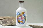青花瓷瓶子包装样机
