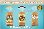 切片面包包装样机