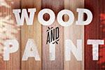 木纹油漆地板背景