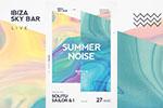 夏季音乐节传单