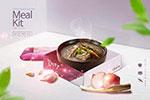 韩国快餐海报1