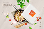 韩国快餐海报2
