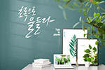 与植物交谈家居海报