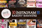 面包店banner