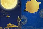 中秋节古典风背景