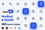医疗和保健图标集