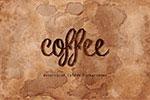 水彩咖啡污�y理