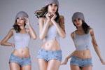 写实美女3D模型