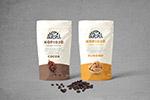 咖啡豆包装模板