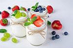 美味水果酸奶高清图片