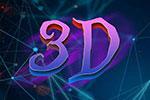 万圣节的3D文字样式